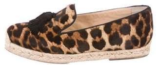 Christian Louboutin Spanish Cheetah Espadrille Flats