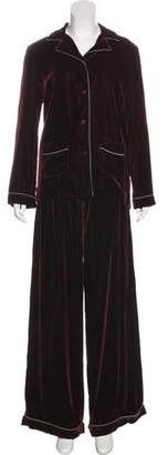 Valentino Velvet Pyjama Set