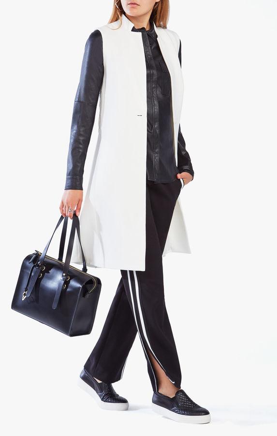 BCBGMAXAZRIAWes Lace-Up Vest
