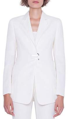 Akris Alpha Long Magnetic-Front Jacket