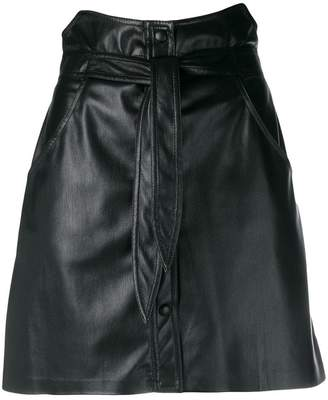 Nanushka Chai vegan leather skirt