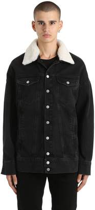 Misbhv Oversized Tribal 95' Denim Jacket