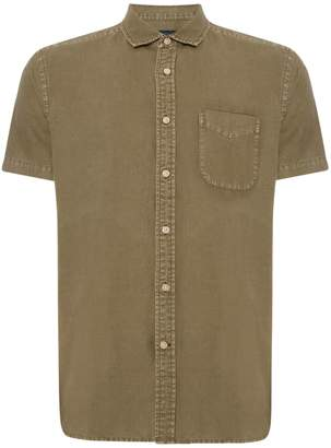 Howick Men's Hinston Short Sleeve Linen Cotton Shirt