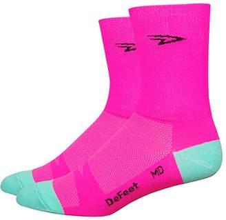 DeFeet D-Logo 5in Double Cuff Sock