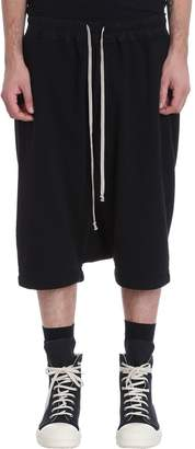 Drkshdw Pods Black Cotton Shorts