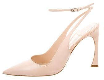 Christian Dior Leather Slingback Pumps