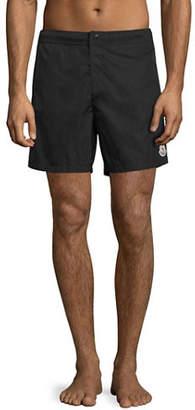 Moncler Men's Swim Trunks with Logo