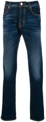 Jacob Cohen washed straight leg jeans