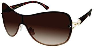 Southpole Women's 451sp-Gldts Shield Sunglasses