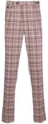 Pt01 tailored plaid trousers