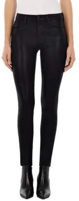 J Brand 620 Coated Super Skinny Jeans
