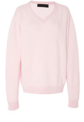 The Elder Statesman V-Neck Cashmere Sweater