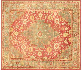 One Kings Lane Vintage Turkish Oushak Carpet - 13'10 x 15'4