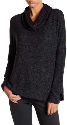 Susina Long Sleeve Cowl Neck Sweatshirt