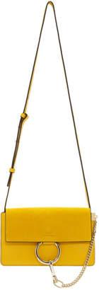 Chloé Yellow Small Faye Bag