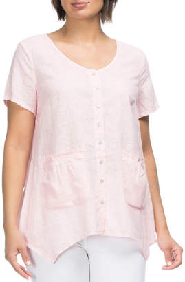Pocket Detail Short Sleeve Shirt