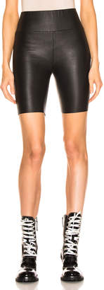 Sprwmn Biker Short in Black | FWRD