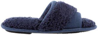 Isotoner Chenille Jersey Slide Womens Slip-On Slippers