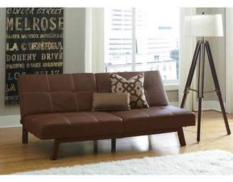 DHP Delaney Splitback Futon Sofa Bed, Multiple Colors