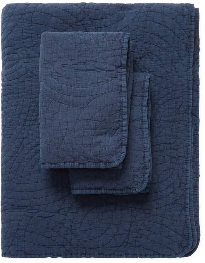 Swirl Cotton Stonewash Quilt Set