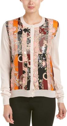 Emilio Pucci Printed Wool & Silk Cardigan