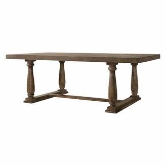 Ophelia & Co. Kaila Trestle Base Dining Table & Co.