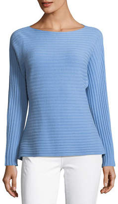 Vince Self-Tie Back Dolman Sweater