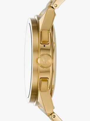 Michael Kors Grayson Gold-Tone Smartwatch
