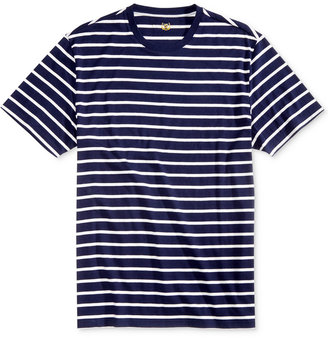 Club Room Men's Goldman Striped T-Shirt, Only at Macy's $9.98 thestylecure.com
