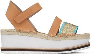 Donald J Pliner ANIE, Mesh and Nubuck Leather Platform Sandal