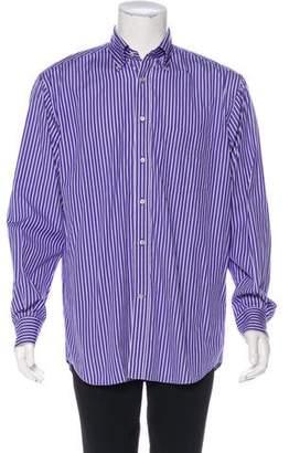 Paul & Shark Striped Dress Shirt