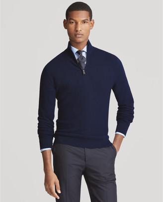 Ralph Lauren Pique Merino-Cashmere Sweater