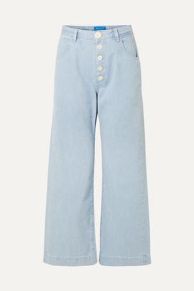 MiH Jeans Paradise High-rise Wide-leg Jeans - Light denim