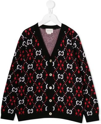 Gucci Kids knit cardigan