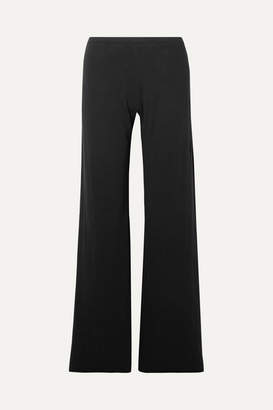 Skin - Essentials Pima Cotton-jersey Pajama Pants - Black