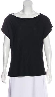 Maison Margiela Knit Short Sleeve Top
