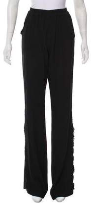 Raquel Allegra High-Rise Wide-Leg Pants