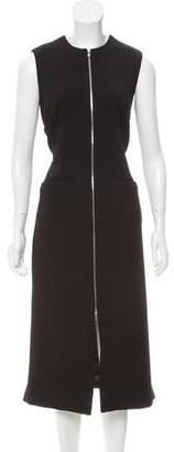Nomia Zip-Front Long Vest w/ Tags