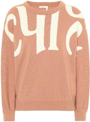 Chloé Wool and cotton sweater