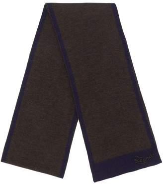 Ermenegildo Zegna two tone scarf