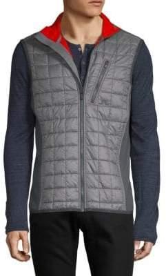J. Lindeberg Atna Hybrid Quilted Puffer Vest