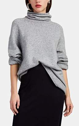 The Row Women's Mandel Cashmere-Blend Oversized Sweater - Gray