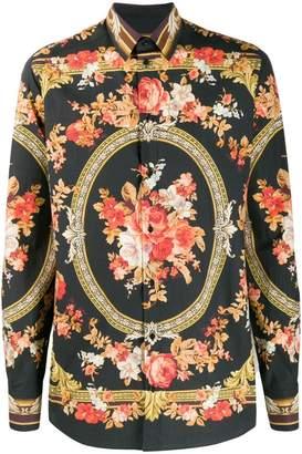 Dolce & Gabbana long-sleeve floral shirt