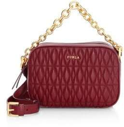 Furla Mini Cometa Quilted Leather Crossbody Bag