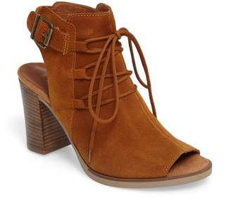Bella Vita Pru Lace-Up Peep Toe Bootie