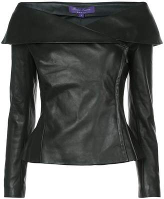 Ralph Lauren off-the-shoulder jacket