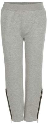 Stella McCartney Cotton-blend track pants
