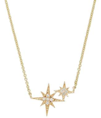Sydney Evan Double Starburst Necklace