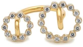 Charlotte Chesnais Fine Jewellery - System Diamond & Yellow Gold Ring - Womens - Gold