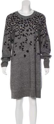 Rag & Bone Wool-Blend Sweater Dress